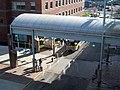 MBTA route 426 bus in Lynn station busway, April 2015.JPG