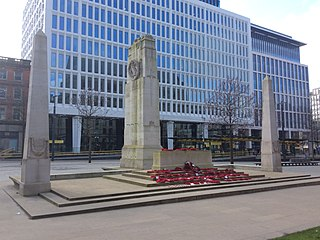 Manchester Cenotaph World War I memorial
