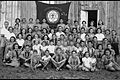 "MEMBERS OF ""HASHOMER HATZAIR"" YOUTH MOVEMENT IN THE KFAR SABA BRANCH. צילום משותף של בני נוער מתנועת ""השומר הצעיר"" סניף כפר סבא.D623-020.jpg"