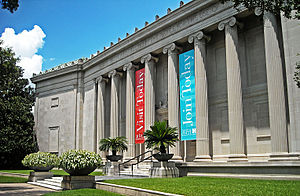 Houston Museum District - Museum of Fine Arts, Houston