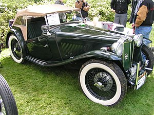 Sports car - Image: MG TC (866095428)