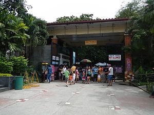 Manila Zoo - The entrance to Manila Zoo