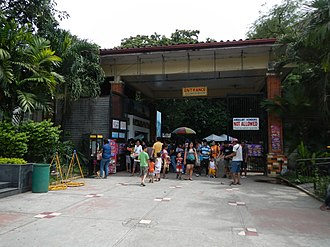 Manila Zoo - The entrance to Manila Zoo