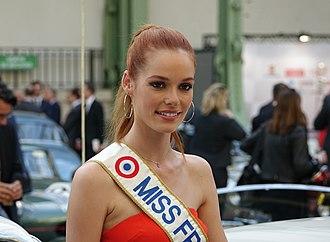 Miss France - Image: Maëva Coucke au Tour Auto Optic 2000