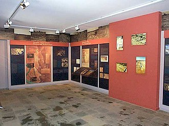 Archaeological Museum of Olynthos - Image: Macedonian Museums 39 Arx Olynthou 166