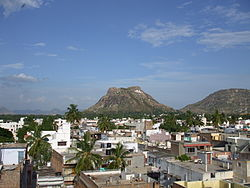 Madanapalle city view
