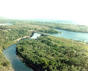 Madden Dam - Madden Dam in 1989