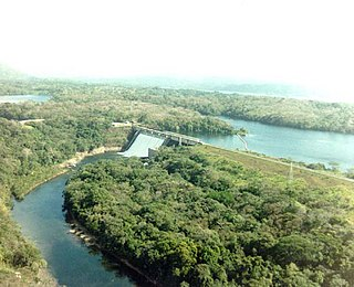 Madden Dam dam in Panama