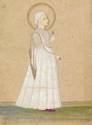 Madhavrao I - Portrait of Pradhanpant Shreemant Madhavrao Ballal Peshwa at the Yale Center for British Art