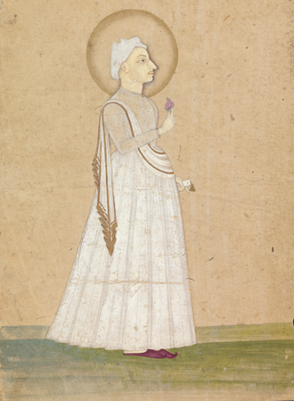 Madhavrao I - Portrait of Pradhanpant Shreemant Madhavrao Ballal Peshwa at the Yale Center for British Art