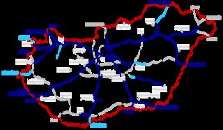 Highways in Hungary