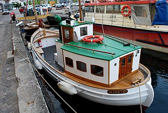 Packet boat - Image: Mailboat.Hjortøbo