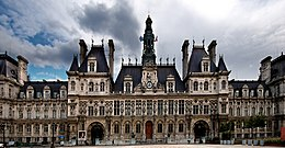 Image illustrative de l'article Place de l'Hôtel-de-Ville - Esplanade de la Libération