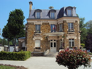Lizy-sur-Ourcq - Town hall of Lizy-sur-Ourcq
