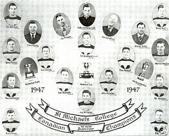 Toronto St. Michael's Majors - Memorial Cup Champions, 1947