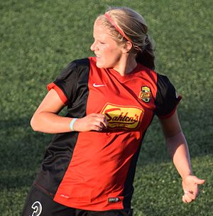 Makenzy Doniak - Doniak with the Western New York Flash in 2016