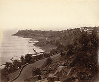 Malabar Point, Bombay, 1860s. Oriental and India Office Collection. British Library.