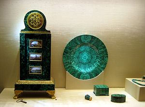Malachite items (Russia, 19 c).jpg