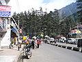 Mall street in Manali, India.jpg