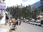 Mall street in Manali, India.jpg