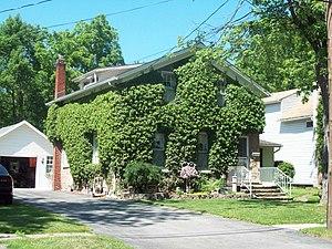 Maloney House (Lockport, New York) - Maloney House, June 2009