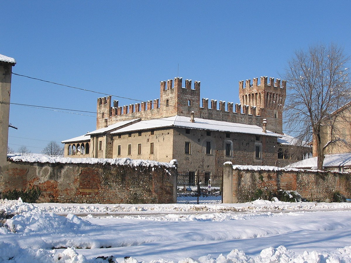 Letto A Castello Lombardia.Castello Di Malpaga Wikipedia