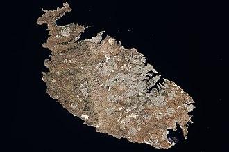 Geography of Malta - Image: Malta ali 2009224 lrg