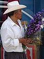 Man with Bouquet of Flowers - Atlixco - Puebla - Mexico (20453903791).jpg