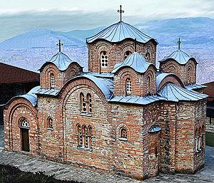 Manastir sveti Pantelejmon vo selo Nerezi