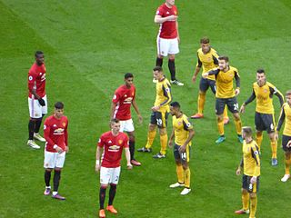 Arsenal F.C.–Manchester United F.C. rivalry Rivalry between two football clubs