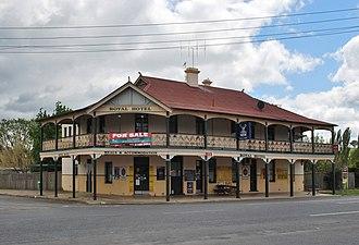 Mandurama, New South Wales - Royal Hotel at the north end of the village
