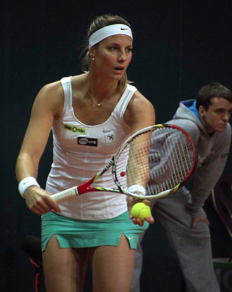 Mandy Minella - Minella at the 2013 BNP Paribas Katowice Open