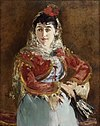 Manet's portrait of Émilie Ambre as Carmen