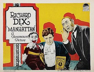 Manhattan (1924 film) - Lobby card