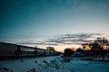 Mankato Train Sunrise, Minnesota in Winter (39981181704).jpg