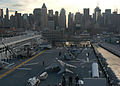 Manning the rails while departing the Big Apple DVIDS128837.jpg