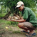 Manoj Gogoi with Indian Pond Heron.jpg