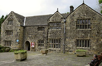 Manor House Museum - The front or south elevation of the Manor House Museum, Ilkley