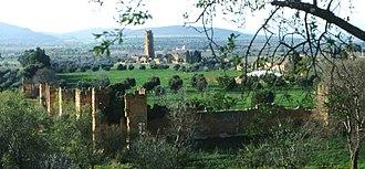 Mansoura, Tlemcen - Image: Mansourah.Vue générale