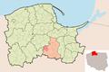 Map - PL - powiat starogardzki - Kaliska.PNG