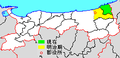 Map Iwami District, Tottori en.png