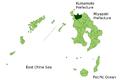 Map Izumi, Kagoshima en.png