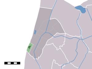 Petten - Image: Map NL Zijpe Petten