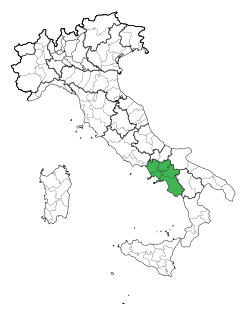 Map Region of Campania.svg
