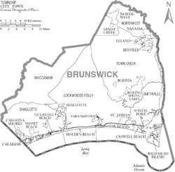 Map of Brunswick County North Carolina With Municipal and Township Labels.PNG
