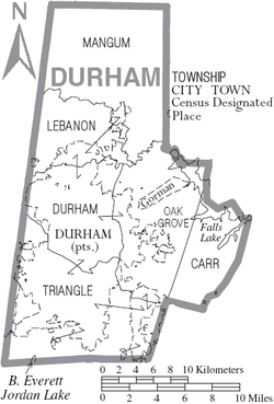Map of Durham County North Carolina With Municipal and Township Labels.PNG