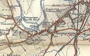 Kempston - Kempston in 1908
