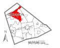 Map of Lebanon County, Pennsylvania Highlighting Union Township.PNG