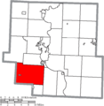 Map of Muskingum County Ohio Highlighting Newton Township.png
