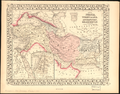 Map of Persia, Turkey in Asia- Afghanistan, Beloochistan WDL11689.png